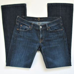 7 For All Mankind Jeans Womens Size 28 Bootcut